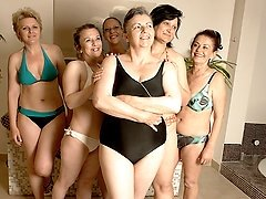These mature women are blowing off steam
