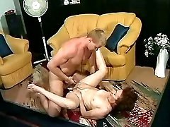 Lewd mom prefers to fuck on floor