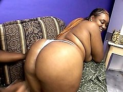 Meet Brownie Girl and Sweet Vanilla, these bbw ebony hotties are both pretty and very horny. Here these big beauties show off their massive juggs and examine their phat pussies with their fingers. Wat