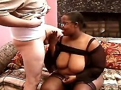 Hot black mom in sex action