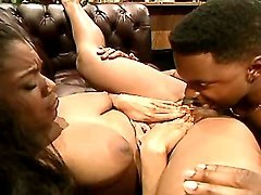 Hot black mom in porn action