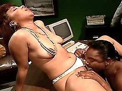 Free black mature porn clip sample