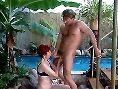 Redhead mature tempts guy