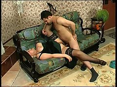Louisa&Monty naughty mom on video
