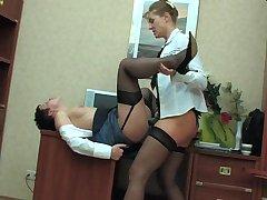 Bridget&Sheila vivid lesbian mature action