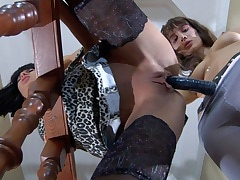 Christiana&Viola lesbian mature video