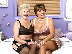 Just A Duo Of Classy 60something Sluts