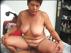 Old esmerelda shows true cocksucking skill