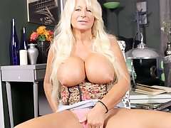Getting To Know A Big-Titted, Hard-Nippled MILF