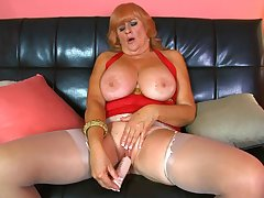 Naughty, big-titted, 61-year-old divorcee...got your attention?