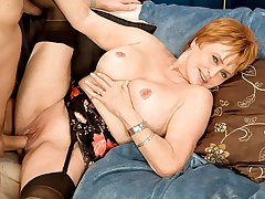 Valerie, 69, gets a creampie from a 29-year-old
