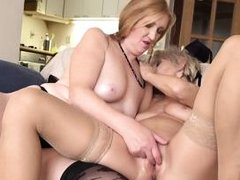 mature lesbians licking pussies on the couch